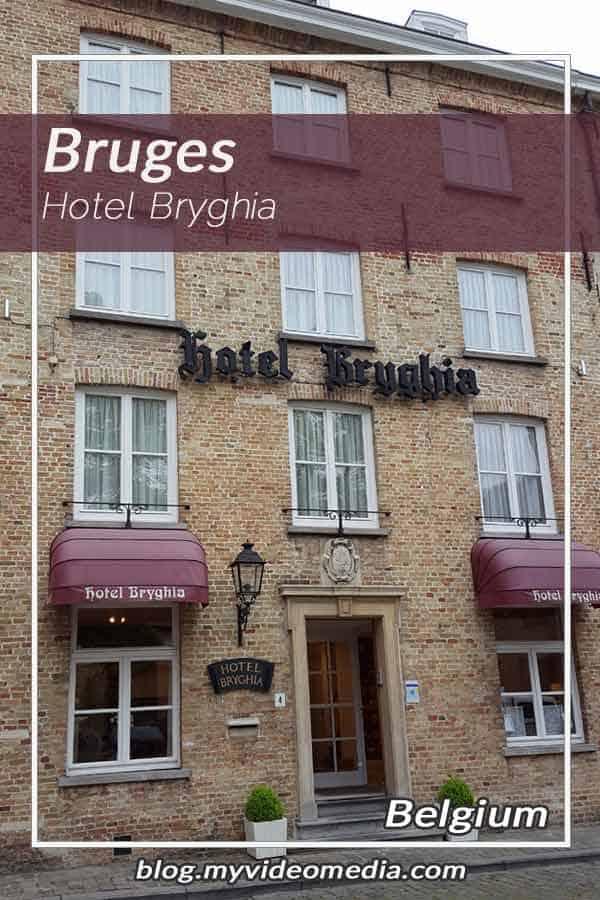 Pin Hotel Bryghia in Bruges Belgium