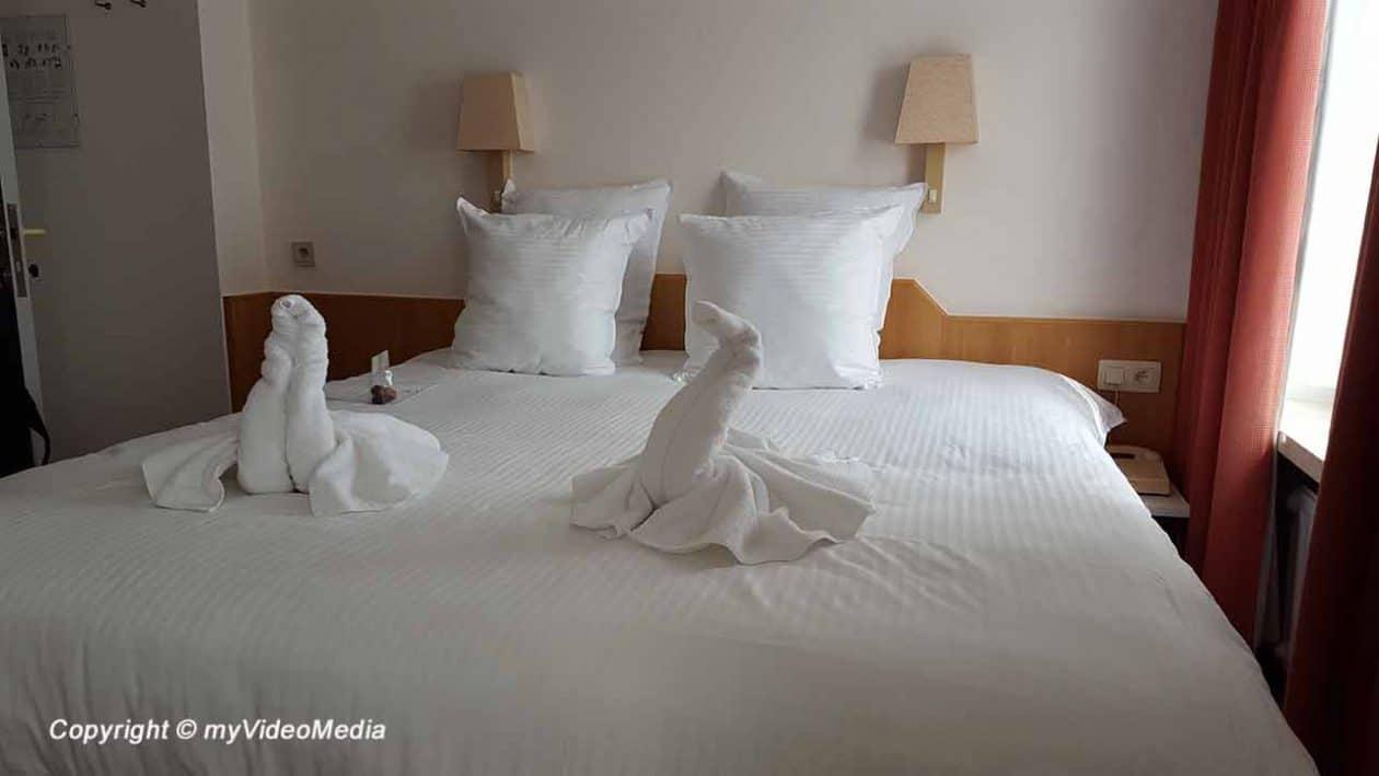 Bedroom Hotel Bryghia Bruges