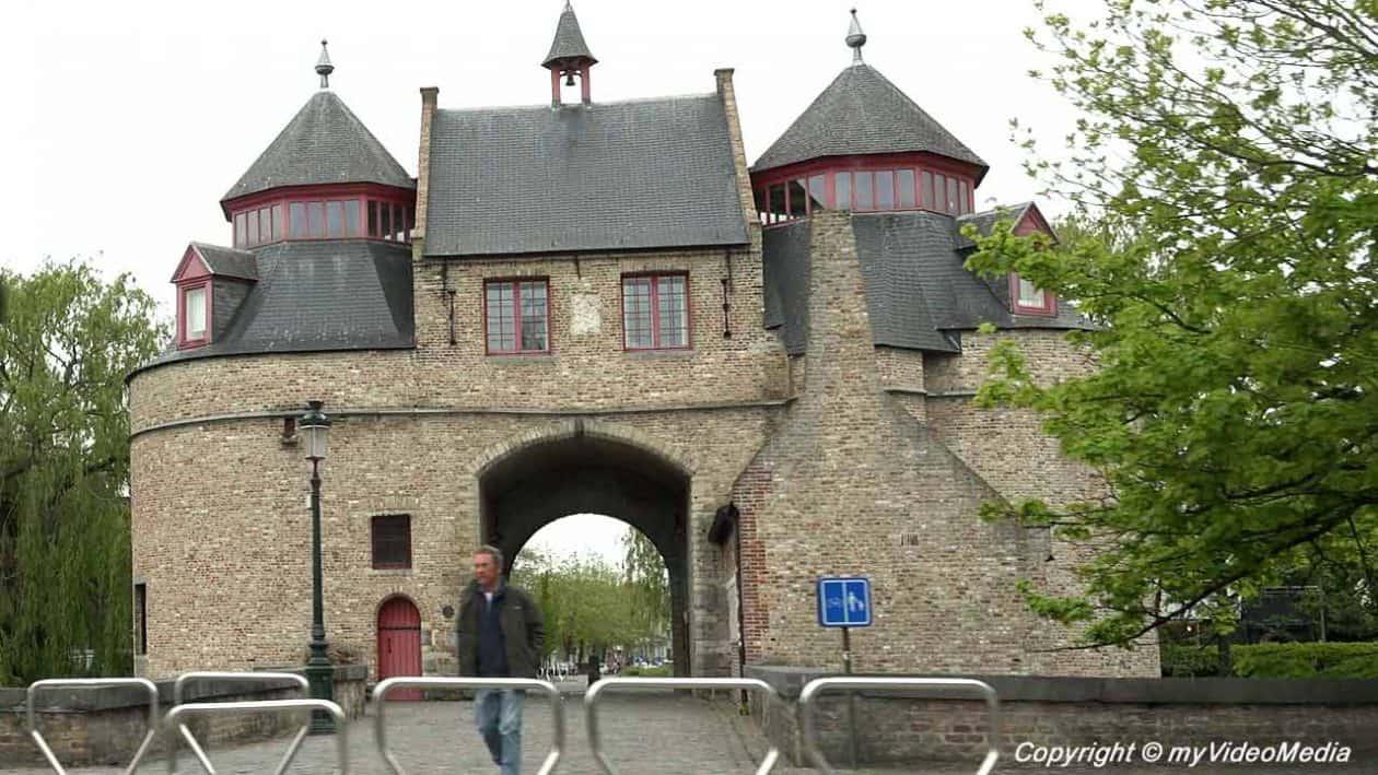 Ezelpoort in Bruges