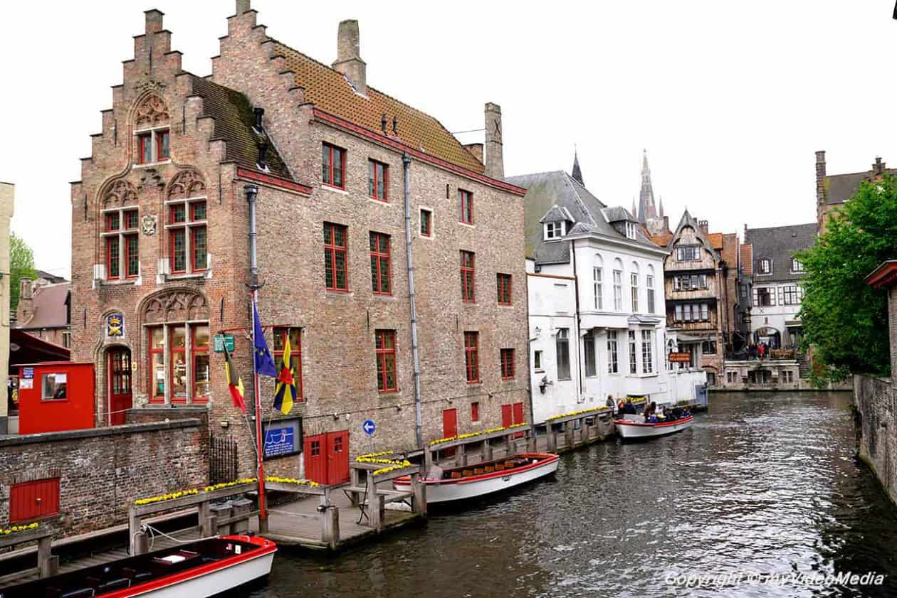 Jetty Canal Tour in Bruges