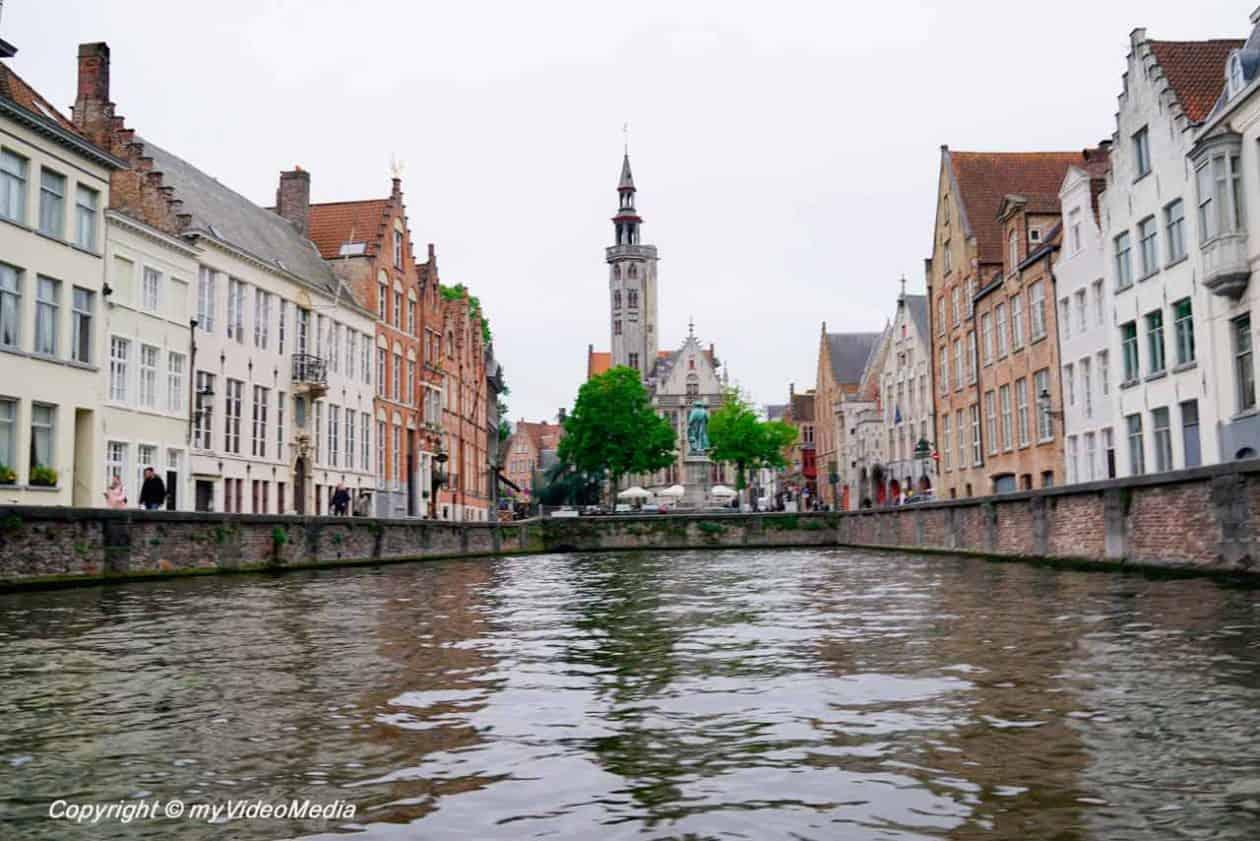 Kanal Tour Bruges - Jan van Eyck Platz