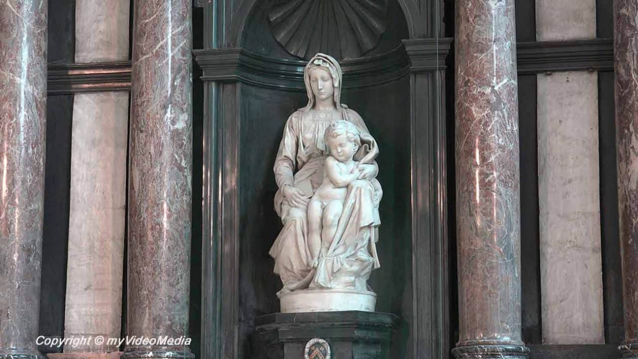Madonna with Jesus, designed by Michelangelo