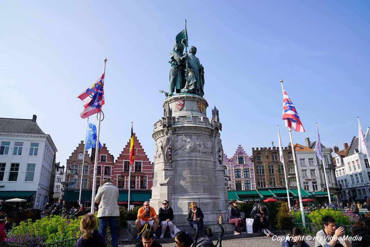Jan Breydel und Pieter de Coninck Denkmal