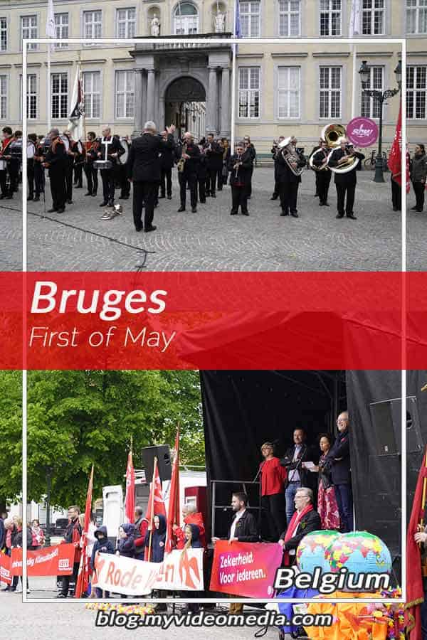 A First of May in Bruges