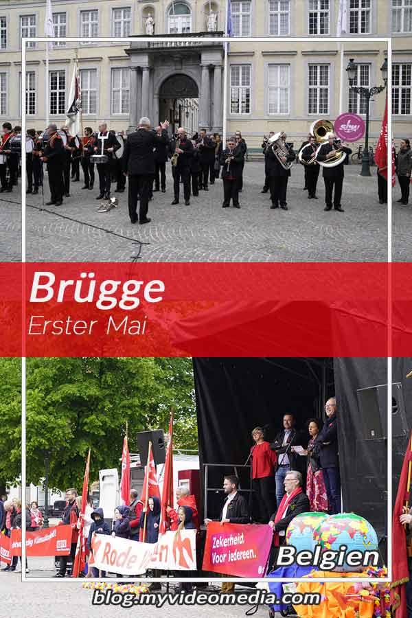 Erster Mai in Brügge