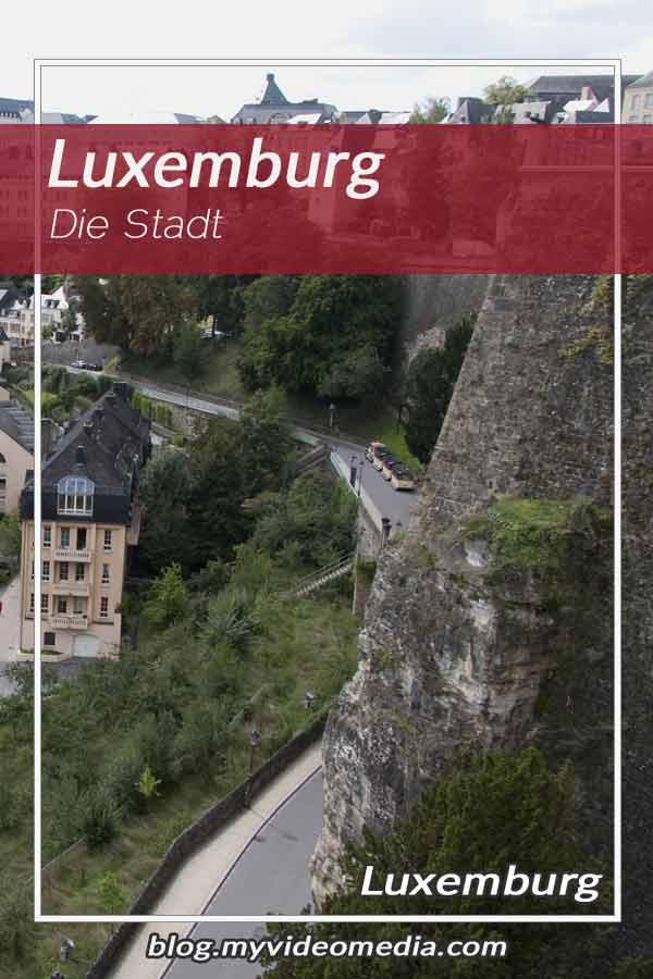 In der Stadt Luxemburg