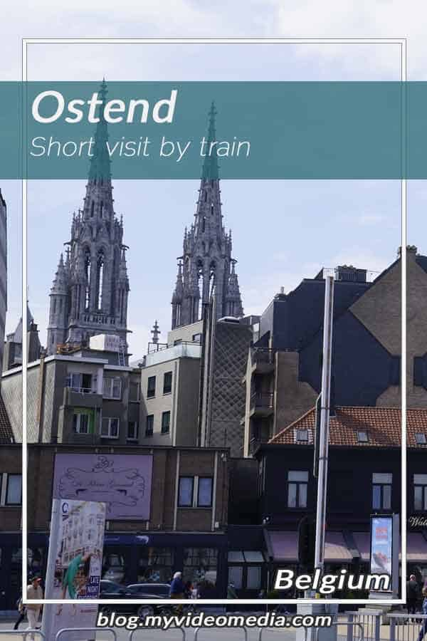 Ostend short visit by train