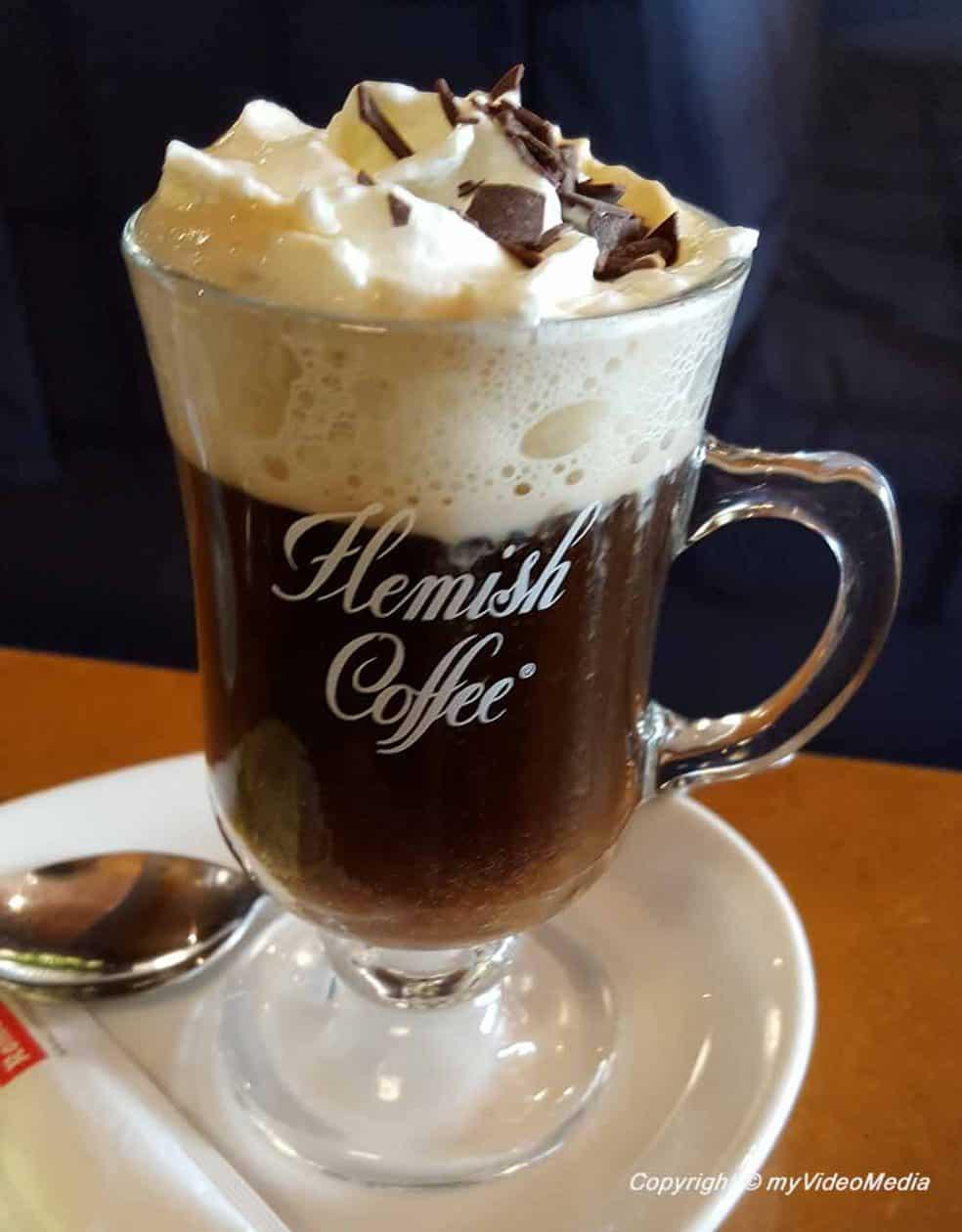 Flemish Coffee in Café 't Galgenhuisje in Ghent