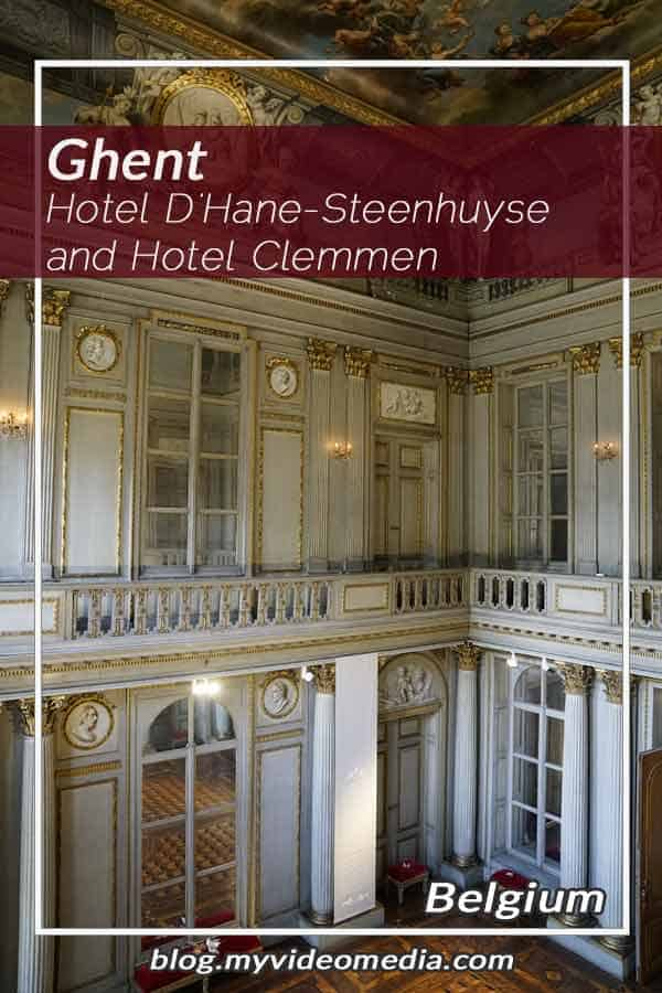 Pin Hotel D'Hane-Steenhuyse and Hotel Clemmen in Ghent