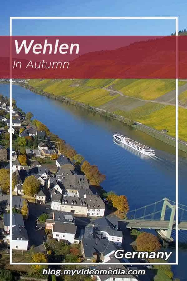 Wehlen at the Moselle in Autumn