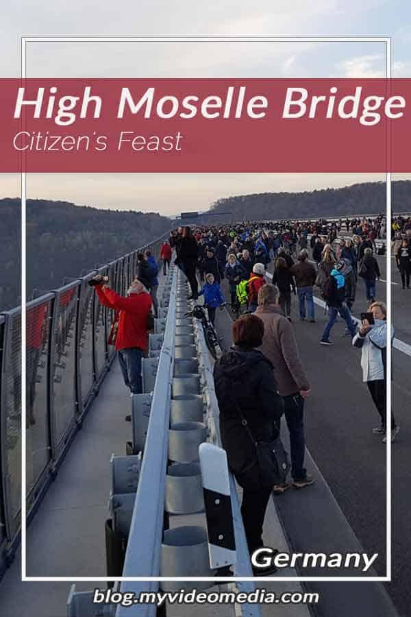 Pin Citizen's Feast on High Moselle Bridge