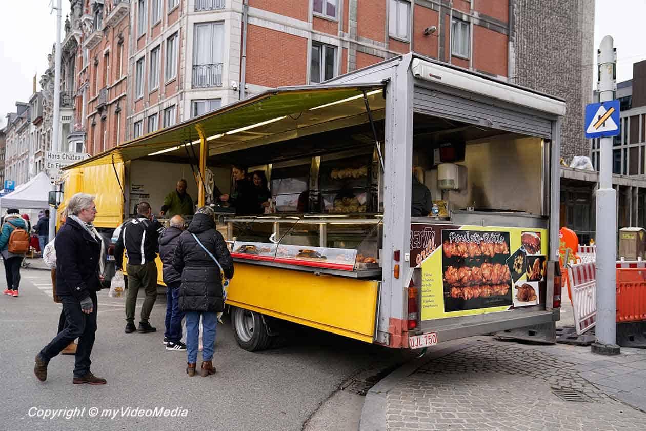 Food stall La Batte Market