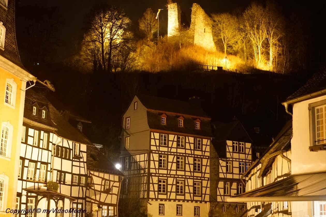 Half-timbered houses Monschau