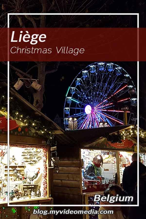 Pin Weihnachtsmarkt in Lüttich