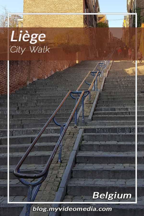 Pin City Walk in Liège