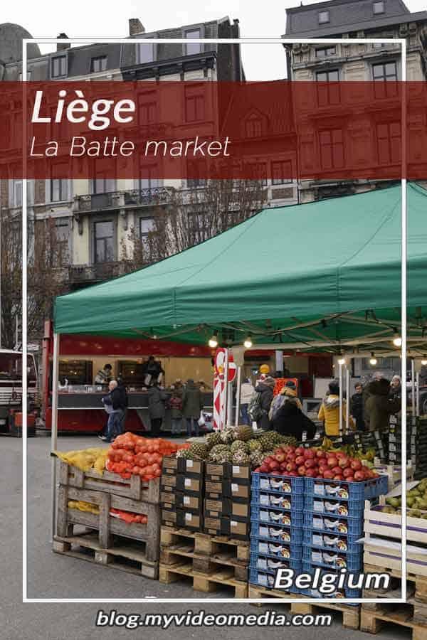 Visiting La Batte Market