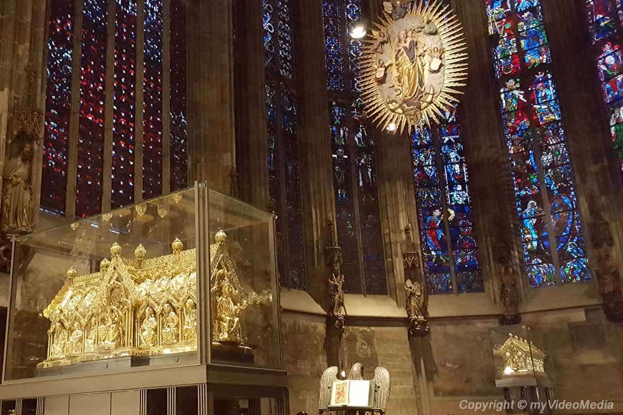 Shrines Aachen Cathedral