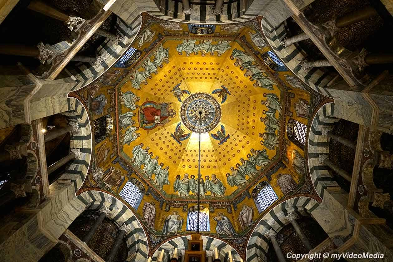 Aachen Cathedral - Dome