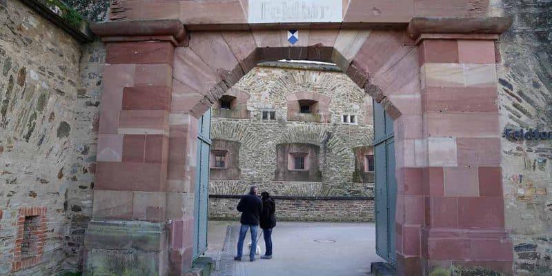 Visiting Ehrenbreitstein Fortress