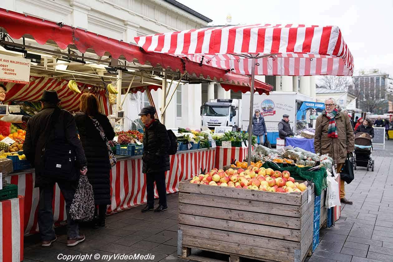 Elisenbrunnen Market