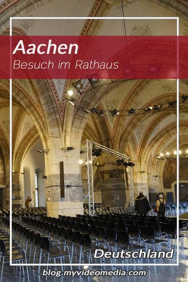 Besuch im Rathaus Aachen