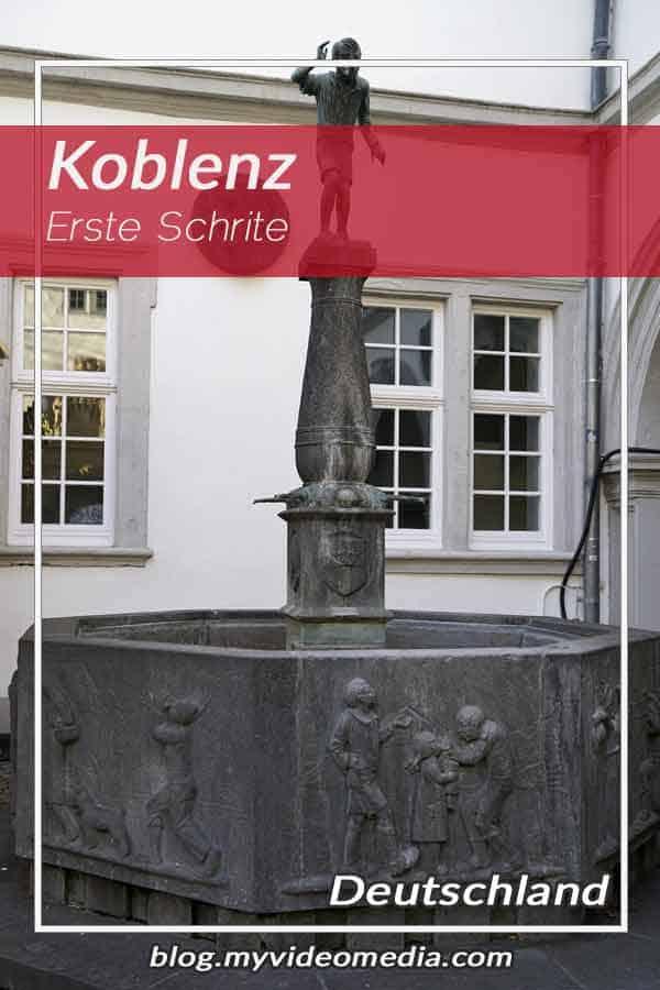 Erste Schritte in Koblenz
