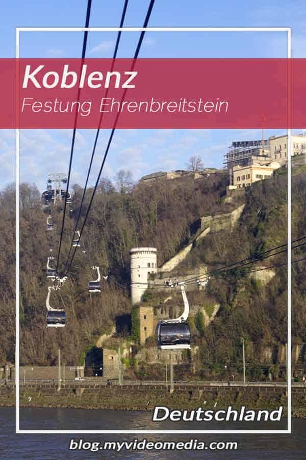 Besuch der Festung Ehrenbreitstein