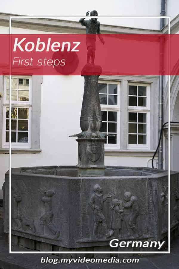 First steps in Koblenz
