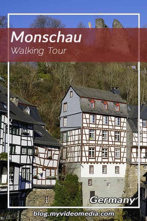 Walking tour through Monschau