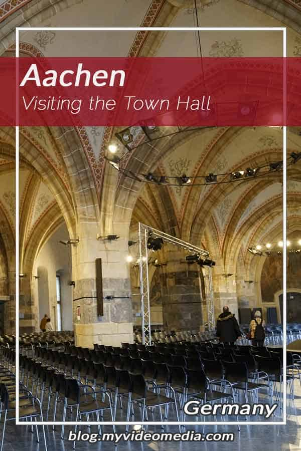 Visiting the Town Hall Aachen