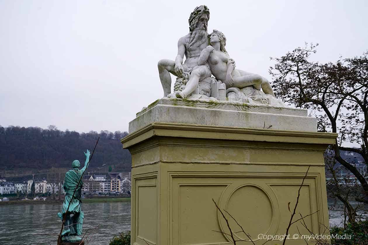 Father Rhine and Mother Moselle monument