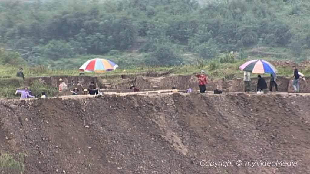 archaeological excavations Yangtze