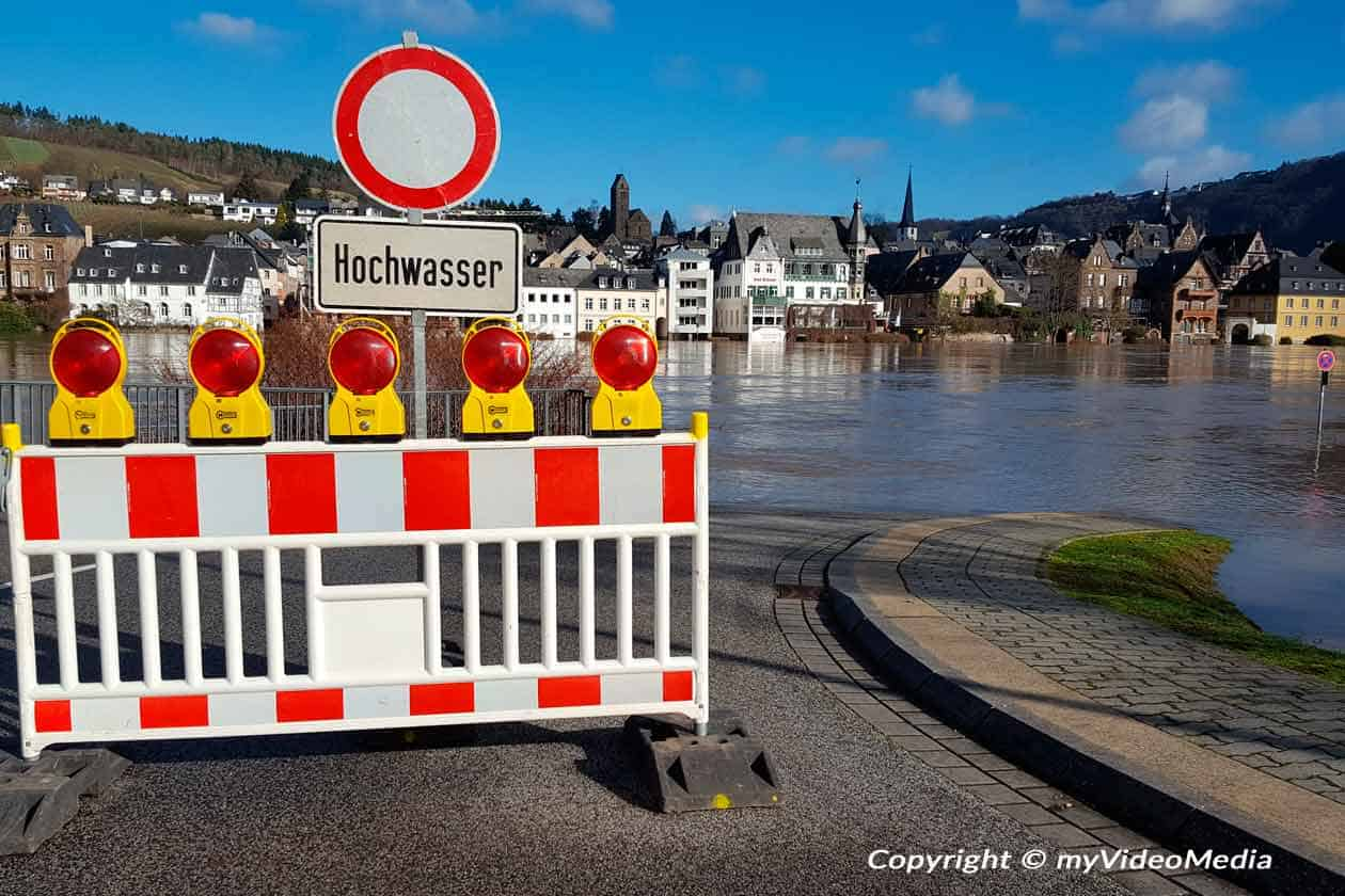 Flood on the Moselle