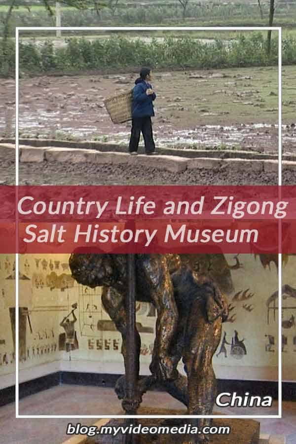Country life and Salt History Museum Zigong