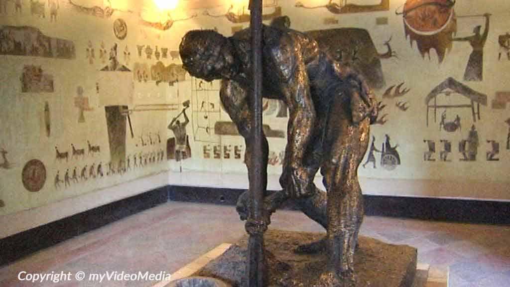 Inside Salt History Museum Zigong