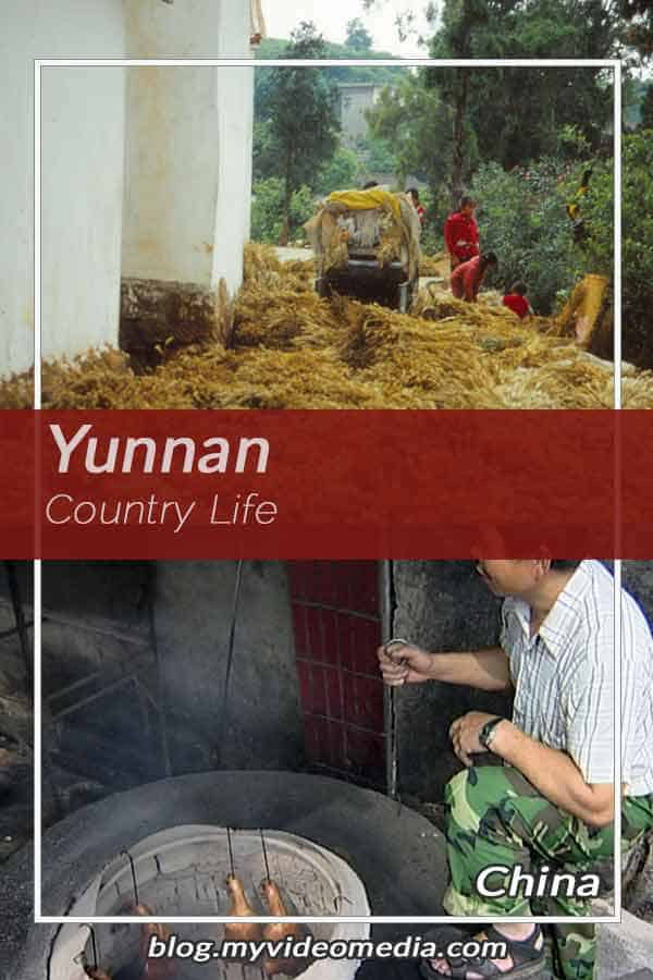 Country life in Yunnan
