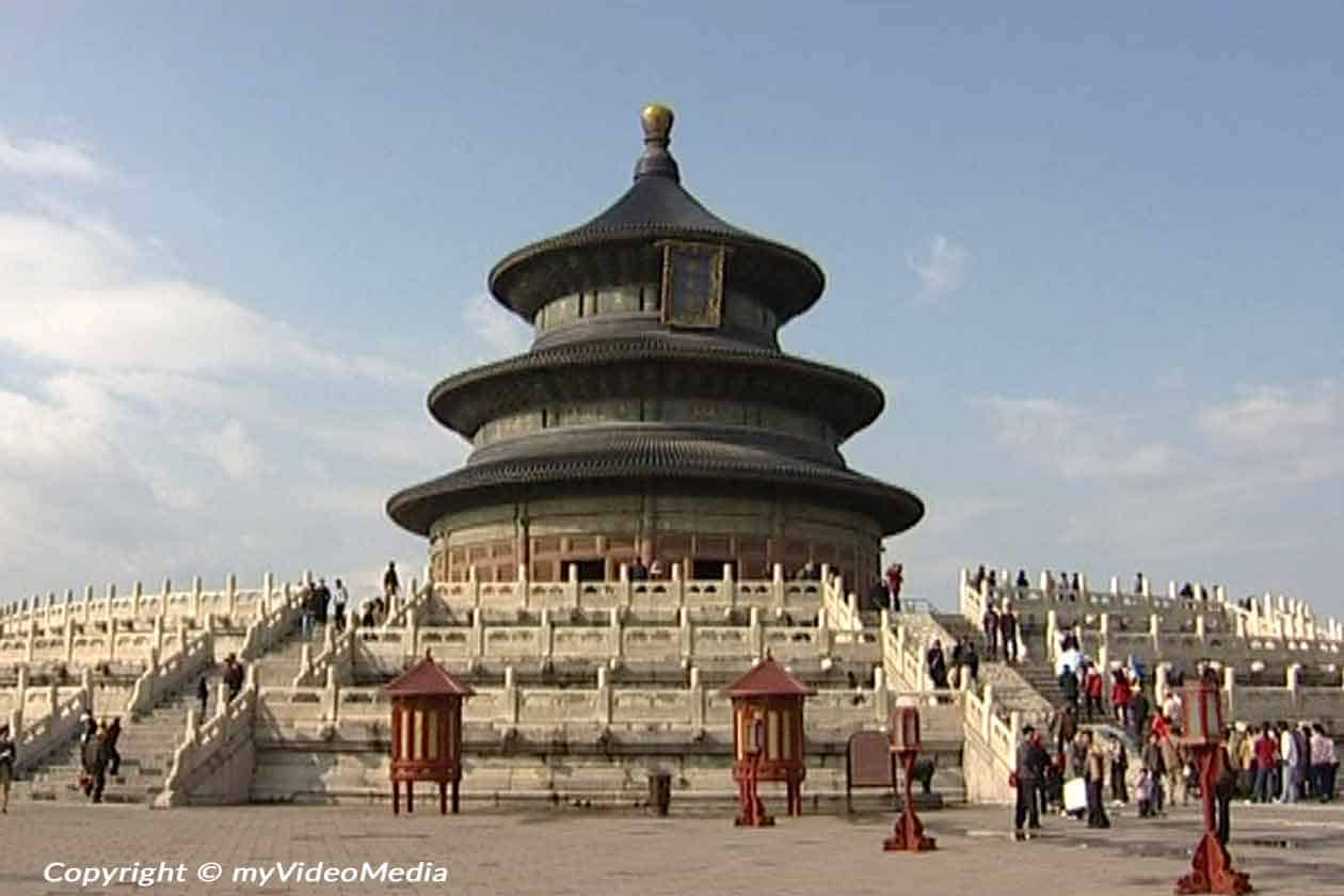 Himmelstempel in Peking - 2004 - China Reise Video Blog