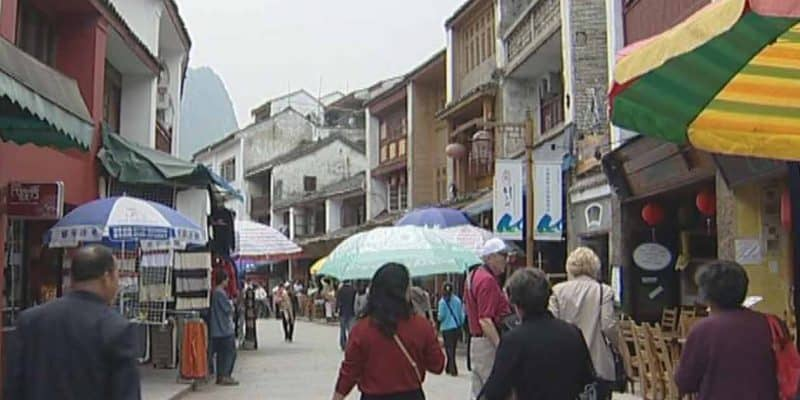 West-Straße in Yangshuo
