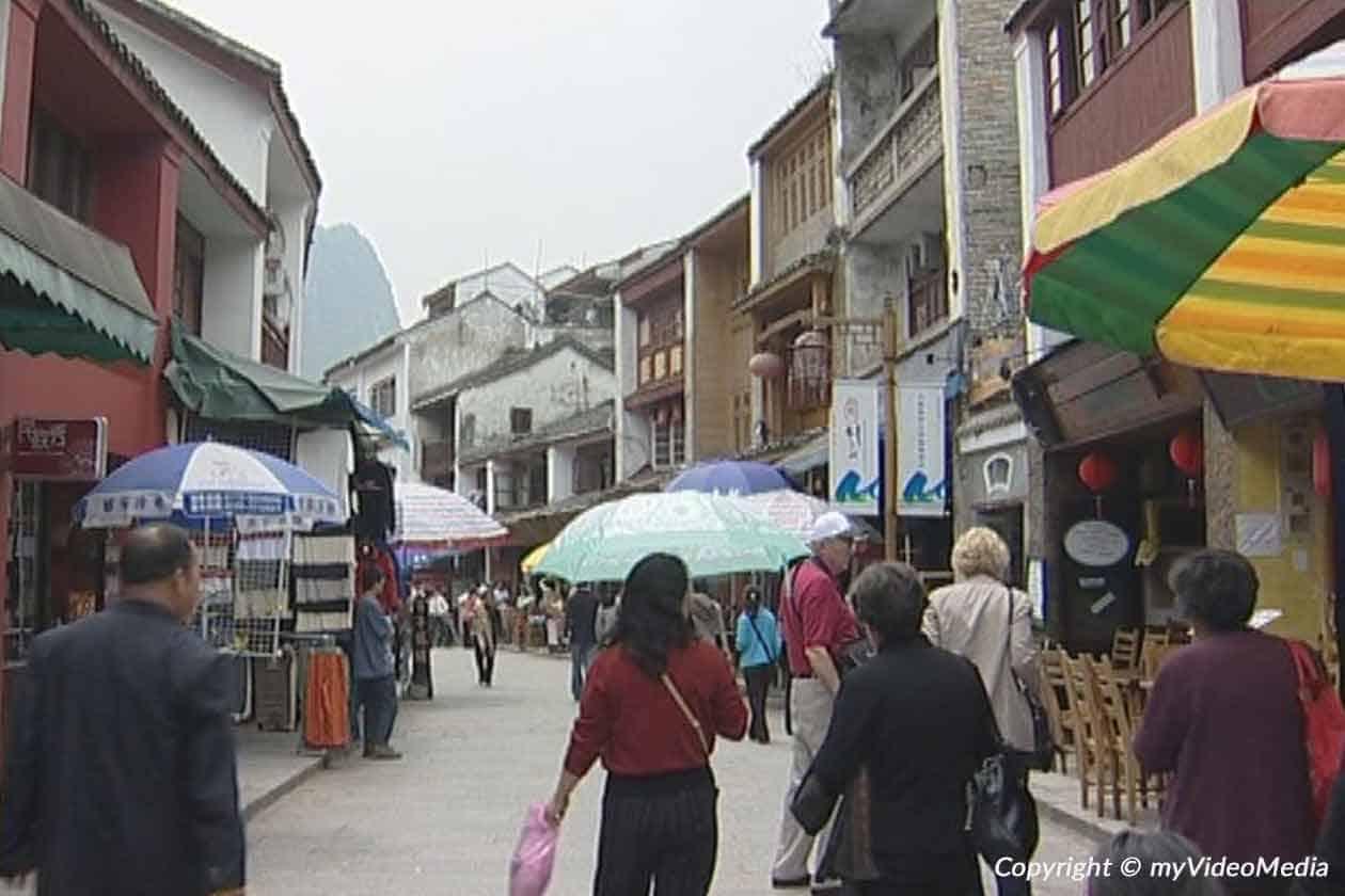 West-Straße in Yangshuo