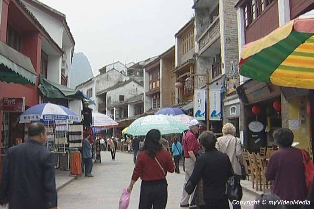 Yangshuo am Li Fluss 2004 - China - Reise Video Blog