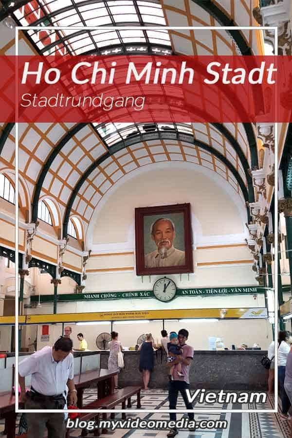 Ho Chi Minh Stadt - Stadtrundgang