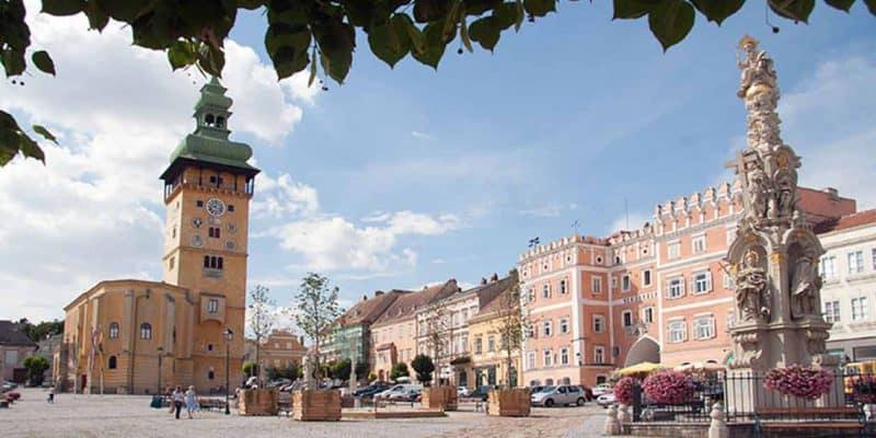 Market square Retz