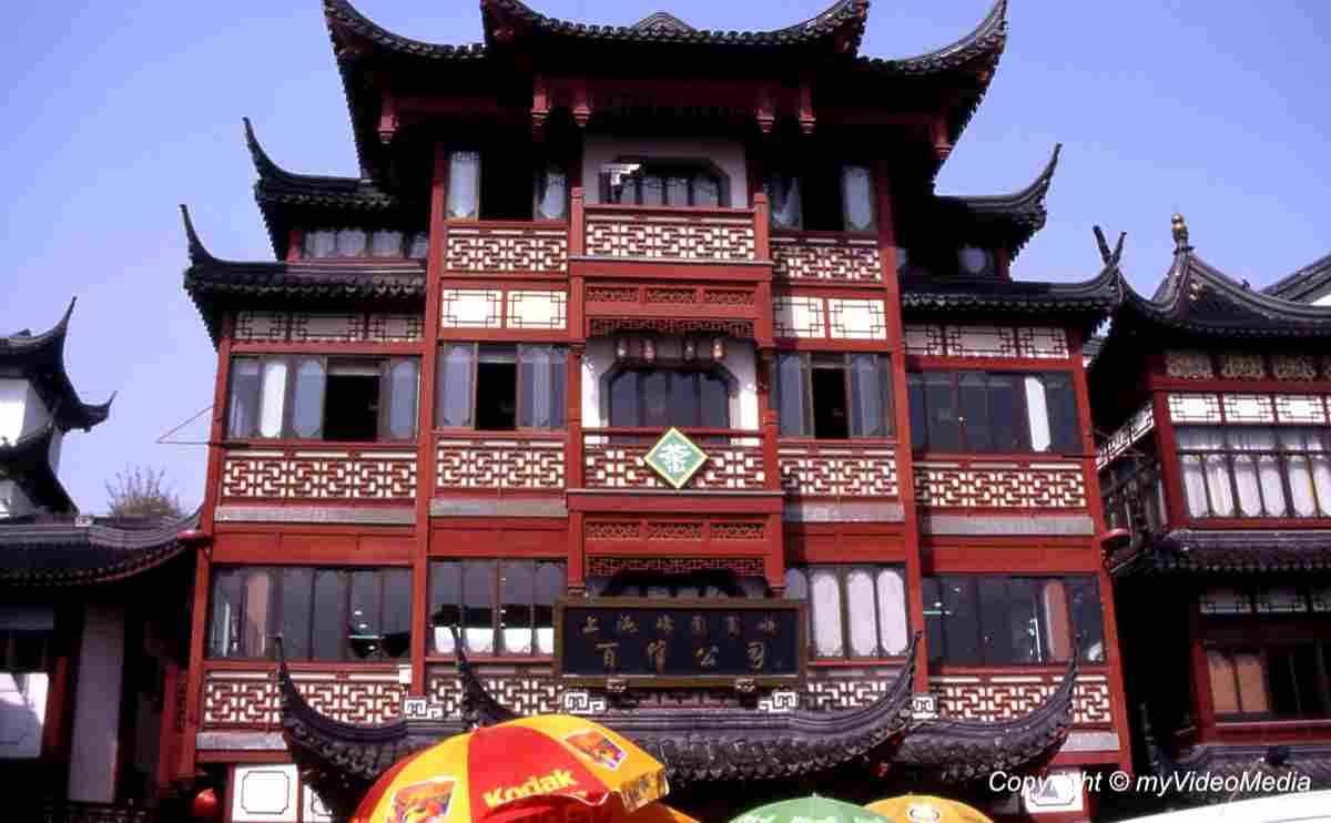 In the Old City of Shanghai - China - Travel Video Blog